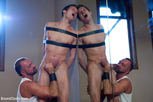 Men in gay bondage