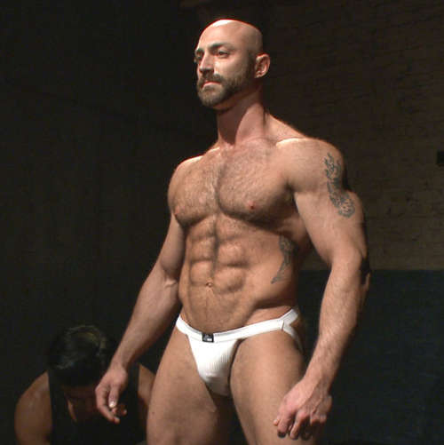 bodybuilder bondage gay sex 1