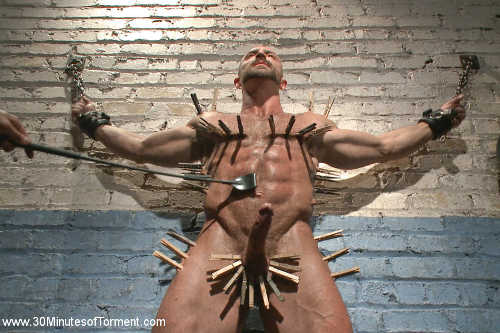 bodybuilder bondage gay sex 4